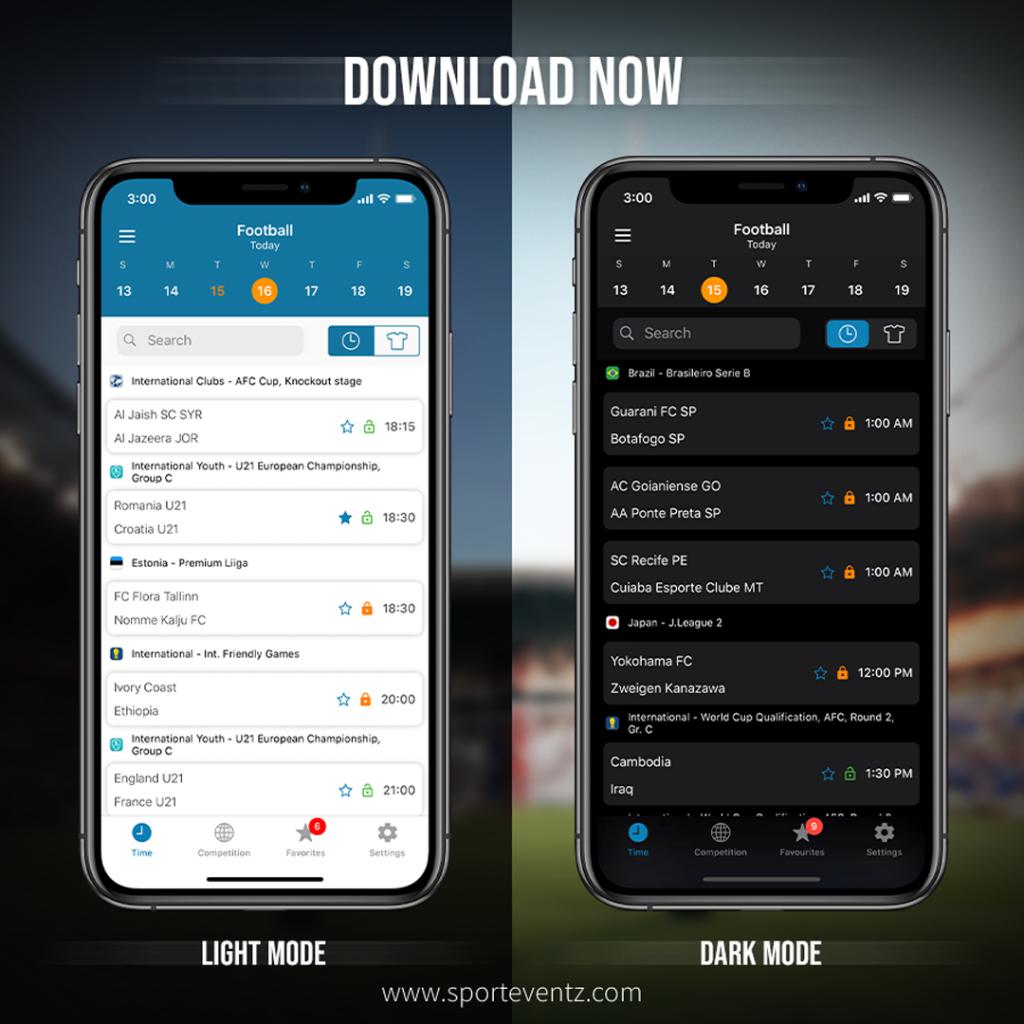 sporteventz-app-light-and-dark-mode