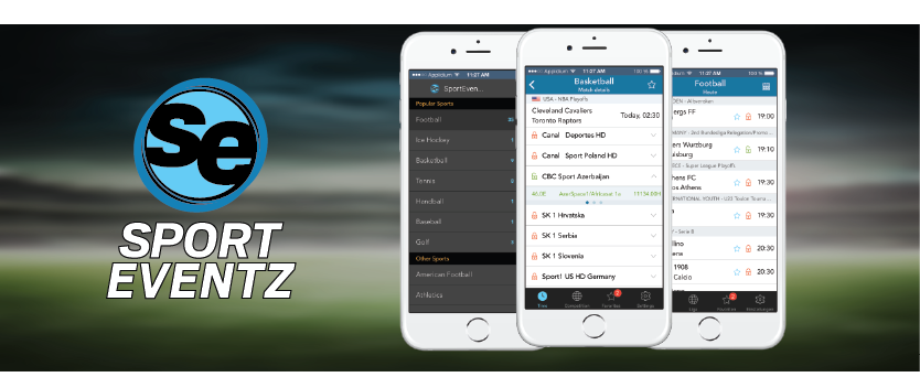 SportEventz - Live sport schedule on satellite TV app - SportEventz